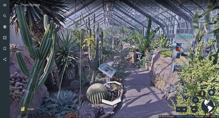 the actual desert room, via google earth