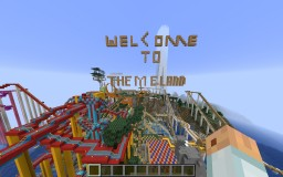 THEMELAND V8.0 - HUGE THEMEPARK IN MINECRAFT ! BUSCH GARDENS, SEA WORLD, SIX FLAGS ROLLERCOASTERS ! Minecraft Map & Project