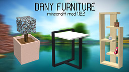 Dany Furniture 1.12.2 v1 Minecraft Mod