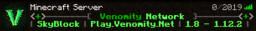 Venomity Minecraft Server