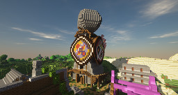 Majora's Mask Clock Tower Minecraft Map & Project
