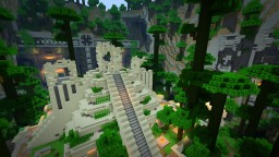 MCPE Spawn Minecraft Map & Project