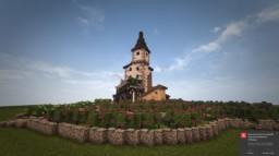 medieval Vineyard / Vine farm Minecraft Map & Project