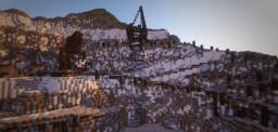 Huge Minecraft Quarry Speedbuild 4K Minecraft Map & Project