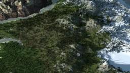 World Map Avatar - WorldPainter 16000x16000 Minecraft Map & Project