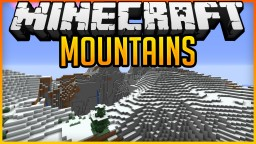 Seed: Mountains @Spawn Minecraft Map & Project