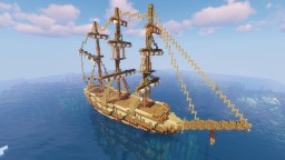 Sail Ship / The SeaGull Minecraft Map & Project