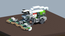 Claas Forage harvester [With download] Minecraft Map & Project