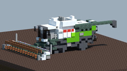 Claas-Lexion 780 Harvester [With download] Minecraft Map & Project