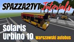Solaris Urbino 10 - Warszawski Autobus Minecraft Map & Project
