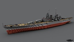 Battleship Sovetsky Soyuz 1:1 Scale Minecraft Map & Project