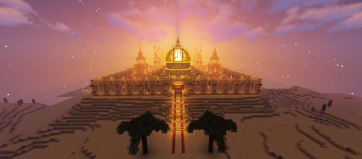 Popular Server Project : Desert Temple