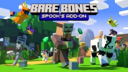 Spook's Bare Bones AddOn Pack Minecraft Texture Pack