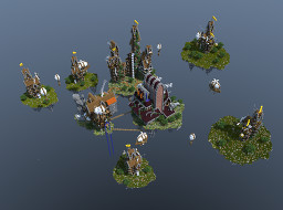Steam Punk Islands Minecraft Map & Project