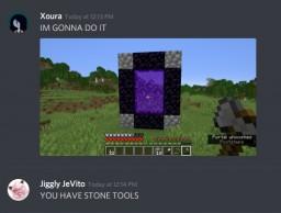Survival, Entry: #1; Nether Minecraft Blog