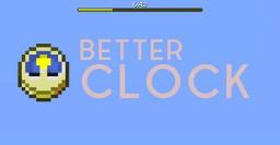 Better Clock Minecraft Data Pack