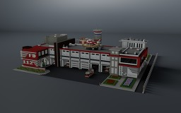 Modern Fire Department Minecraft Map & Project