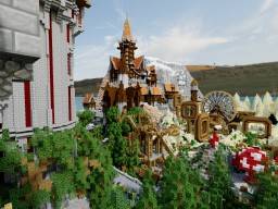 The Redstone Theme Park [MASSIVE AND FULLY FUNCTIONAL] OVER 1000 REDSTONE CREATIONS! Minecraft Map & Project