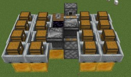 1.15 Flying Item Transport Minecraft Map & Project