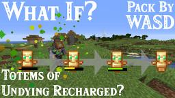 WASD Recharging Totem [Datapack] 1.14+ Minecraft Data Pack