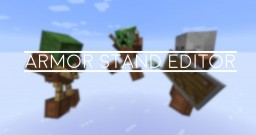 Armor Stand Editor Minecraft Data Pack
