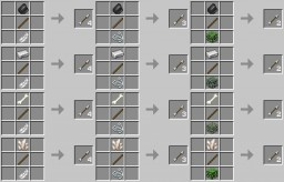 Better arrow crafting recipes for archer playstyle v1.1 (1.14.4) Minecraft Data Pack