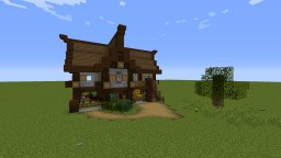 Tiny Medieval Home No. I Minecraft Map & Project