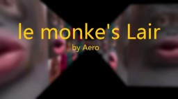 le monke's Lair (Horror Map) Minecraft Map & Project