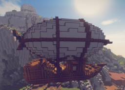Small Airship Minecraft Map & Project
