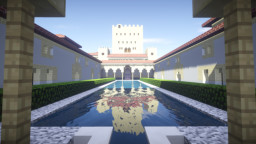 Alhambra, Granada Minecraft Map & Project