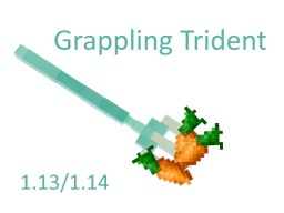 Grappling Trident Minecraft Data Pack