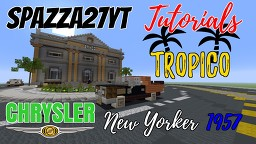 Chrysler New Yorker 1957 Minecraft Map & Project