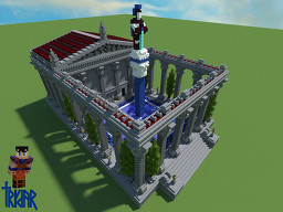 Roman Bathhouse Minecraft Map & Project