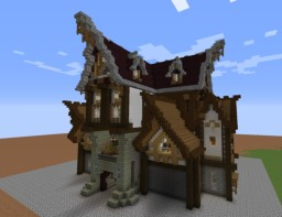 The Olde Tunnel Inn Minecraft Map & Project