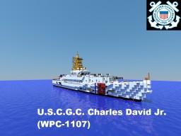 U.S.C.G.C. Charles David Jr. (WPC-1107) Minecraft Map & Project
