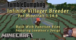 Infinite Villager Breeder for Minecraft 1.14.4 (Uses Function Files) Minecraft Map & Project