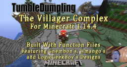 Villager Breeder and Trading Hall for Minecraft 1.14.4 (Uses Function Files) Minecraft Map & Project