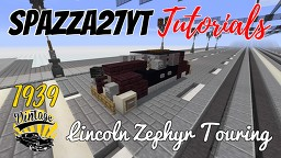 Lincoln Zephyr Touring 1939 Minecraft Map & Project