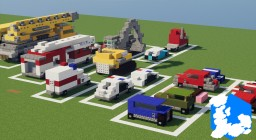 Realm of Lothiredon » Vehicles pack! [DOWNLOAD] Minecraft Map & Project