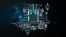 SpaceHub for ProMCgames Minecraft Map & Project