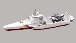 Patrol Ship coast guard class 25/9 Minecraft Map & Project