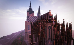 Medieval Cathedral St. Vitus Church [SPEEDBUILD 2019] Minecraft Map & Project