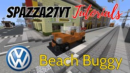 Volkswagen Beach/Dune Buggy Minecraft Map & Project