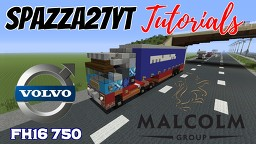 Volvo FH16 - Malcolm LTD Minecraft Map & Project