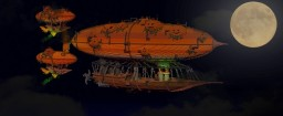 HALLOWEEN AIRSHIPS Minecraft Map & Project