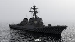 USS Arleigh Burke (DDG-51) Minecraft Map & Project