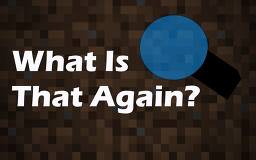What Is That Again? (WAILA for Datapacks) Minecraft Data Pack