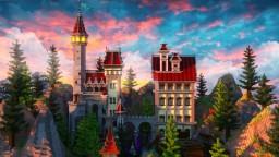 Autumn Castle Spawn Minecraft Map & Project