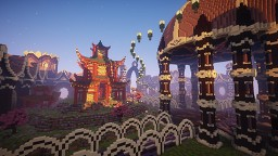 Spawn Faction 400x400 (Japanese Style) Minecraft Map & Project