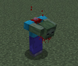 Headless Zombie [1.14] Minecraft Texture Pack